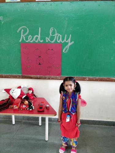 Pre Primary Red Day