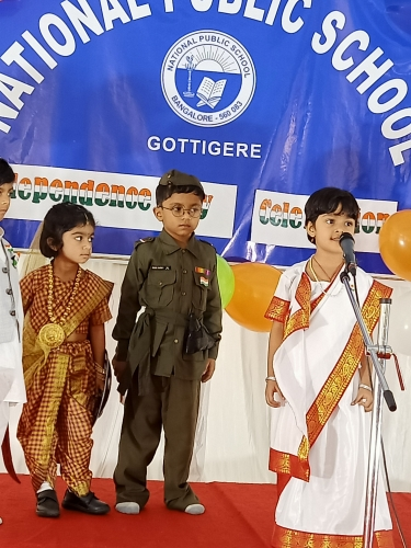 Pre Primary - Independence Day Celebration