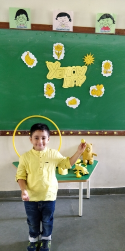 Pre Primary Yellow Day